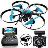 Force1 U49W Blue Heron Drone with Camera Live Video Photography (Certified Refurbished)