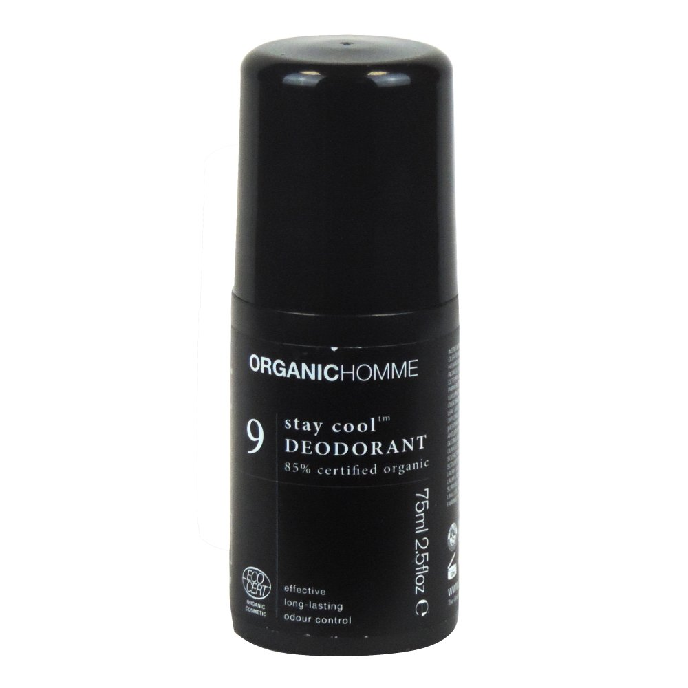 Organic Homme - 9 Stay Cool Deodorant - 75ml (Case of 12)