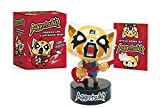 Aggretsuko Figurine and Illustrated Book: With