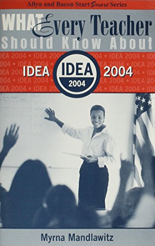 What Every Teacher Should Know About Idea 2004