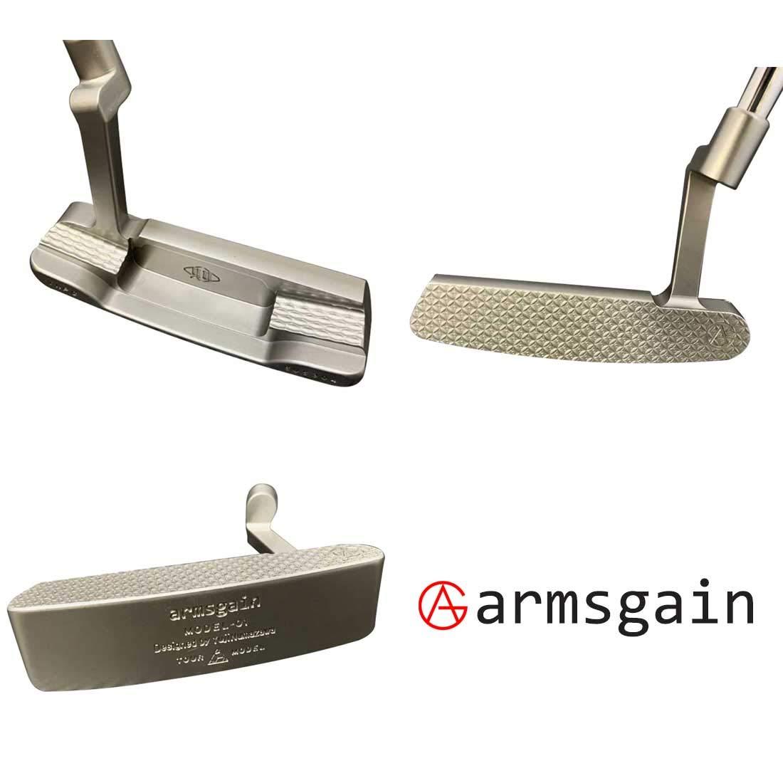 アームスゲイン(armsgain) パター Model-01【TourModel】 クランクネックタイプ 35インチ パター B07S6VS938