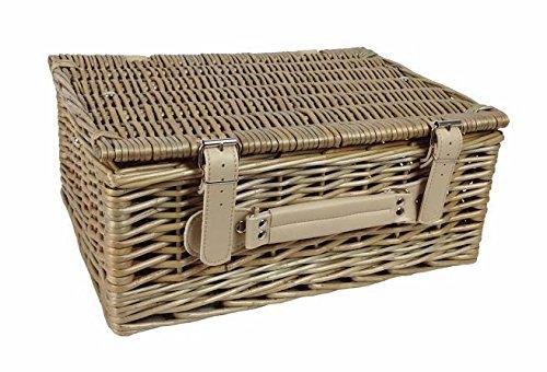 36cm Antique Wash Picnic Basket by Red Hamper