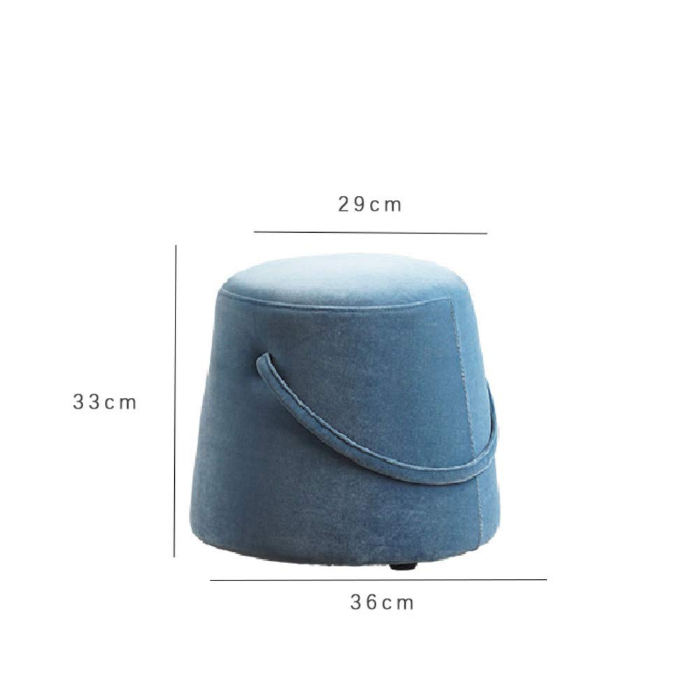 G 29x33x36cm(11x13x14inch) Footstool Footrest,Portable,Sturdy Stable Stool Softness shoes Bench for Fitting Room Living Room Home Modern Home-j 37x38x45cm(15x15x18inch)