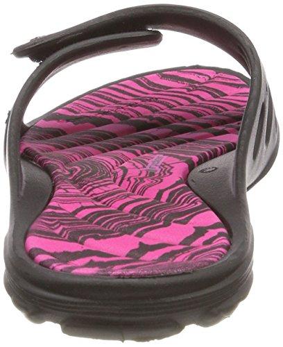 Bout Rider Key Ouvert Fem Femme X 8377 Multicolore Pink Black qqBwxZR