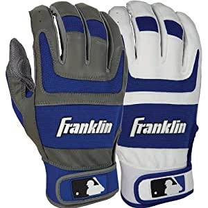 Shok-Sorb Pro Series Home and Away Adult Batting Gloves League: MLB, Size: xl, Color: Royal