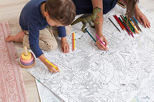 Giant Coloring Poster Jurassic Park - 48