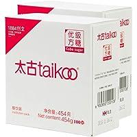 太古taikoo纯正方糖 优质白砂糖 餐饮装咖啡调糖454克*2盒 送糖夹