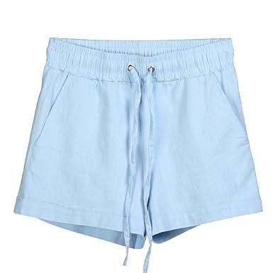 Pantalones Mujer Cortos Deporte Vestir Verano Yoga Running PAOLIAN ...