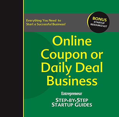 Download Online Coupon or Daily Deal Business: Step-by-Step Startup Guide (StartUp Guides) Pdf