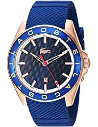 Men's 'Westport' Quartz Stainless Steel and Silicone Casual Watch, Color Blue (Model: 2010906)