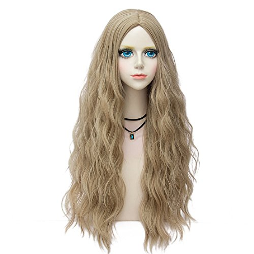 Probeauty Miracle &Forest Lady Collection Heat Resistant Synthetic Wigs Long Curly Women Cosplay Wig (70cm, Light Brown F1)