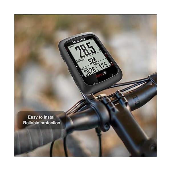 Cycling GPS Computer Accessories TUSITA Case for Bryton AERO 60 60E 60T Silicone Protective Cover
