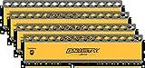 Ballistix Tactical 16GB Kit (4GBx4) DDR3 1600 MT/s (PC3-12800) UDIMM 240-Pin Memory - BLT4CP4G3D1608DT1TX0