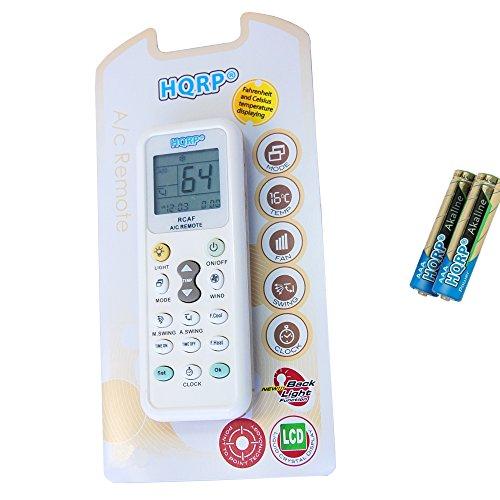 HQRP Remote Control for Haier HWF08XC5 HWR05XC5 HWR05XC9-L H