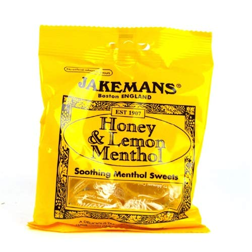 Jakeman's Honey and Lemon Throat & Chest Lozenges (Pack of 3)