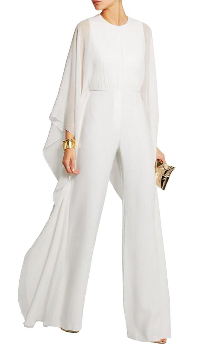 GAGA-women clothes PANTS レディース B075VM38TQ X-Small ホワイト ホワイト X-Small