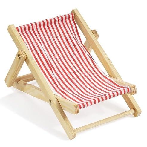 Klappliegestuhl weiss  Amazon.de: Deko-Liegestuhl ca. 10 cm rot-weiß