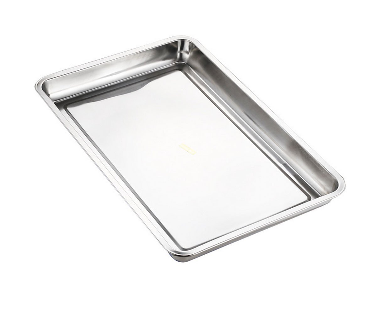 Lianzhi Hotel And Catering Business Stainless Steel Baking Pan Half Thickness 0f 0.5MM (10.63*14.70*0.79) by Lianzhi