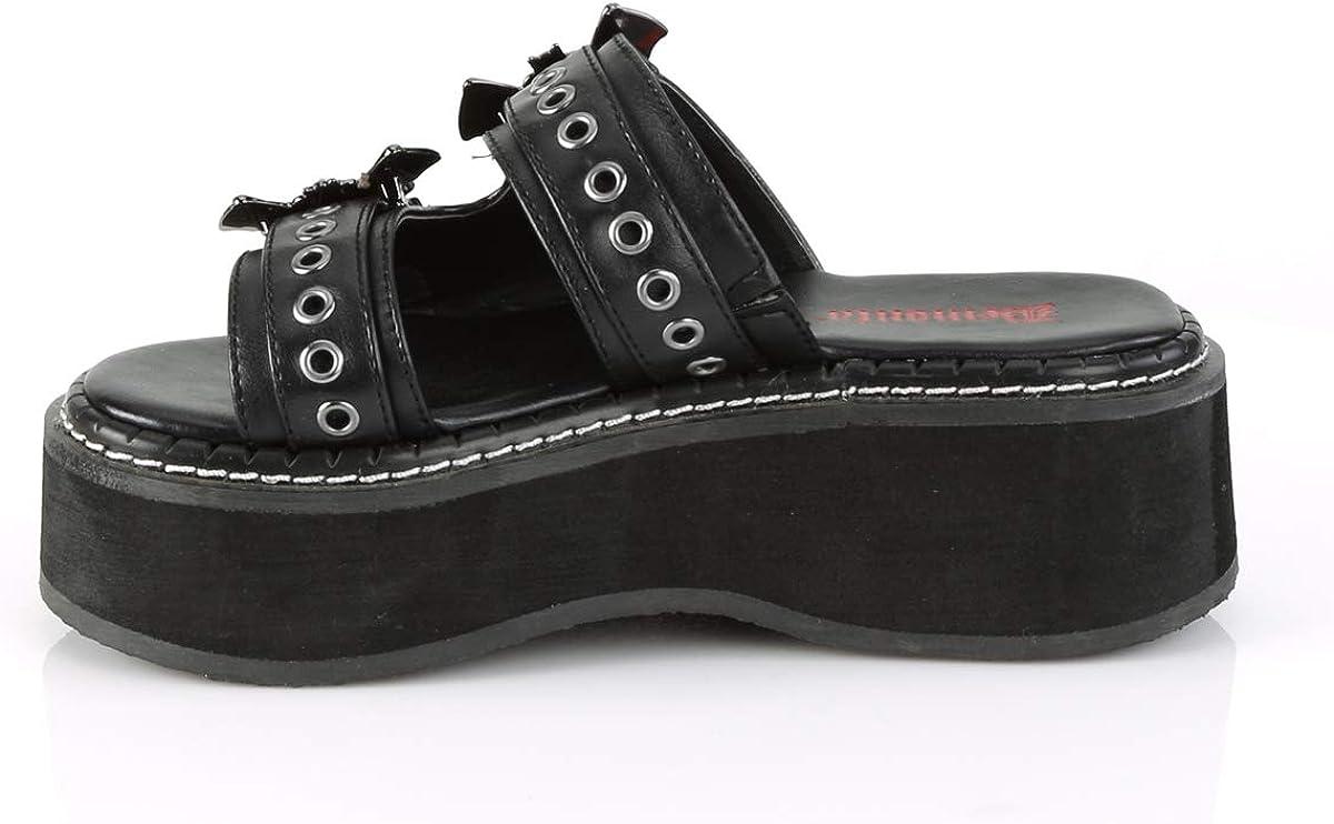 Demonia Womens EMILY-100//BVL Sandals