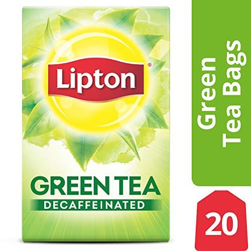 Lipton Green Tea Bags, Decaffeinated