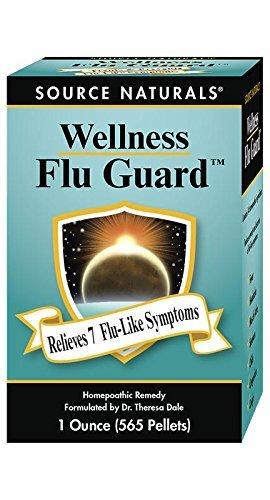 - Source Naturals Wellness FluGuard, Homeopathic Remedy,1 Ounce 565 Pellets