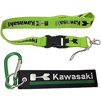 Amazon.com: Llaveros de calidad premium para Kawasaki ...