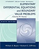 img - for Student Solutions Manual: Elementary Differential Equations & Boundary Value Problems book / textbook / text book