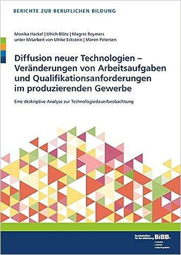 Book Diffusion neuer Technologien -