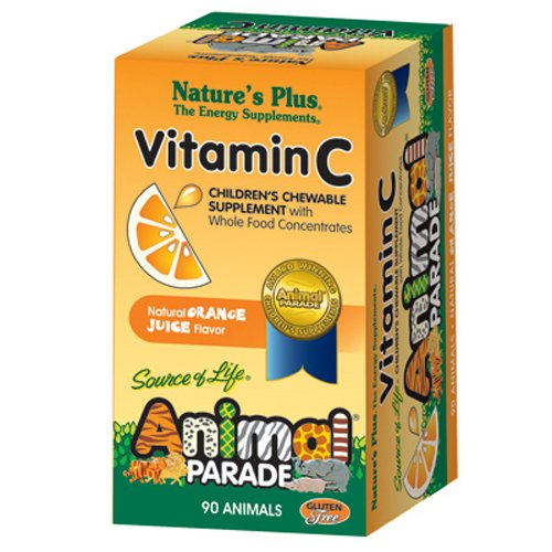 Natures Plus Bilberry (Nature's Plus AP Vitamin C Chewable Tablets, 90 Count)