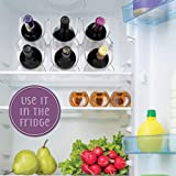 Homeries Wine & Water Bottle Organizer Holder