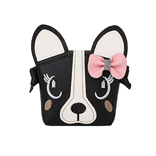 1fe5ee8bd256 Orfila Little Girl Purses Cute Puppy Shoulder Crossbody Bag Small Coin  Purse for Toddler Kids