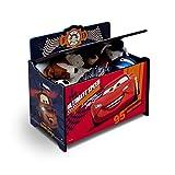 Delta Children Deluxe Toy Box, Disney/Pixar Cars