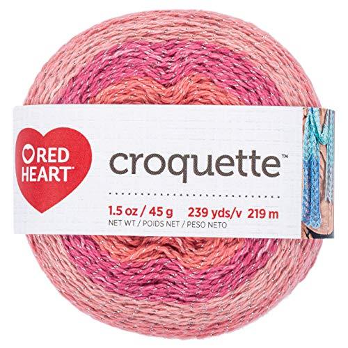 (RED HEART E887.9729 Croquette crochet thread Spice Market)