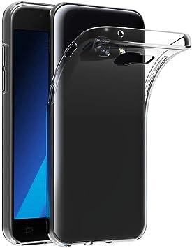 ivoler Funda Carcasa Gel Transparente Compatible con Samsung ...
