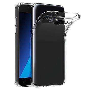 iVoler Funda Carcasa Gel Transparente Compatible con Samsung Galaxy A5 2017, Ultra Fina 0,33mm, Silicona TPU de Alta Resistencia y Flexibilidad