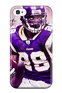 Hot Tpu Cover Case For Iphone/ 4/4s Case Cover Skin - Adrian Peterson Football