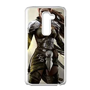 the elder scrolls online 2 LG G2 Cell Phone Case White custom made pgy007-9975036