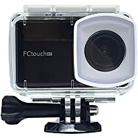 O RLY FCtouch4K Action Sport camera cam SONY IMX078 Lens: Action Sport Cam Camera Waterproof Full HD 4K 1080p 720p Video Photo bike helmetcam water sport waterproof