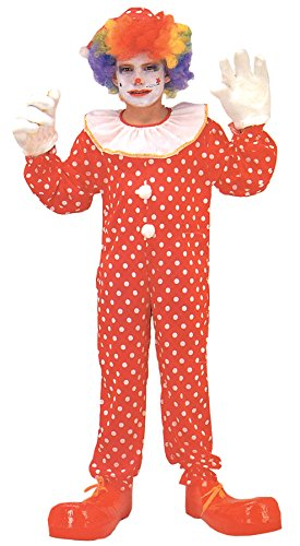 [Morris Boy's Polka Dots Clown Costume 4-6] (Group Of 5 Halloween Costume Ideas)