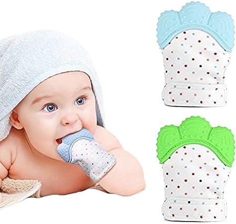Zooawa Mordedor Bebé de Dentición Manoplas para Dolor