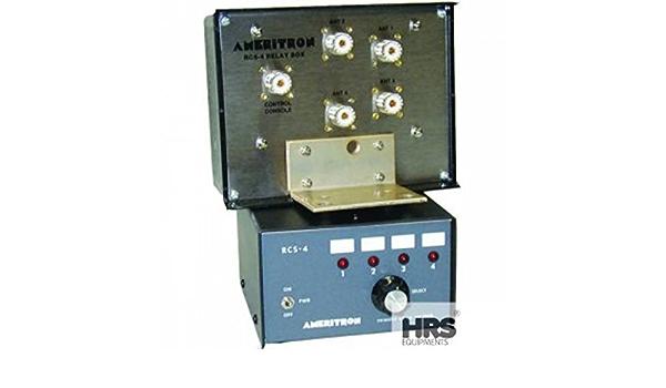 rcs-4 X ameritron Remote Controlled Antena Switch 4 ...