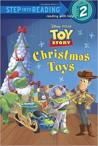 amazoncom christmas toys disneypixar toy story step into reading 9780736428842 jennifer liberts weinberg rh disney books - Toy Story Christmas Special