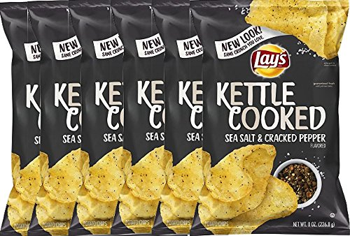lays kettle cooked black pepper - 3