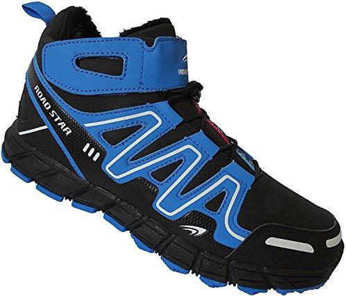 Sportschuhe Gr Nr Art Blau 47 20191 Schuhe 49 Sneaker Herren Schwarz Warmfutter Stiefel nxZ4WSWa1