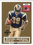 2005 Topps Turn Back the Clock #18 of 22 STEVEN JACKSON St. Louis Rams
