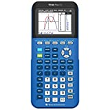 Texas Instruments TI-84 Plus CE Graphing Calculator, Bionic Blue
