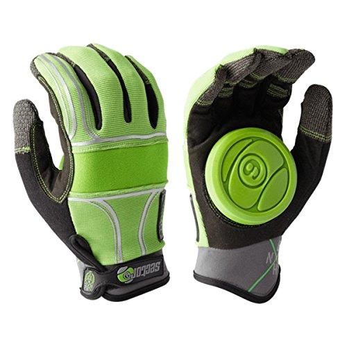 Sector 9 BHNC Slide Glove, Green, Large/X-Large (Sector Nine Skate Gloves)