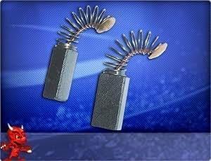 Escobillas de carbón para lijadoras Bosch PBS 75 AE-MICRO, lijadora excéntrica PSS 28 AE