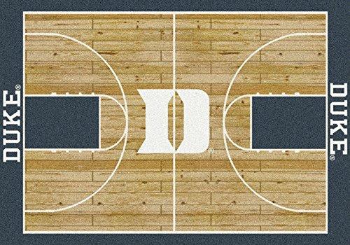 Milliken Duke Blue Devils Basketball Home Court Area Rug (7'8