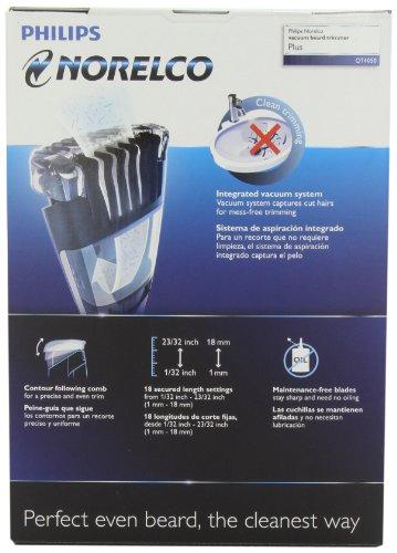Philips Norelco BeardTrimmer 7100, vacuum trimmer (Model # QT4050)